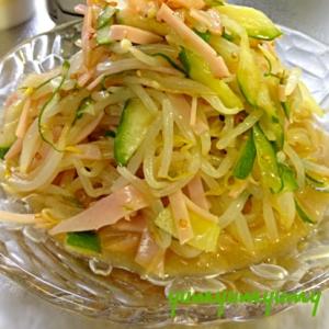 もやしの中華サラダです☆お野菜たっぷり!食べてね♪