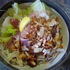 中華風 お刺身サラダ