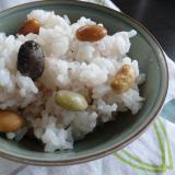 カラフル枝豆ご飯
