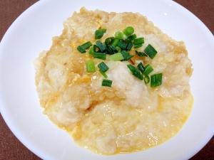 栄養満点☆卵とろろ雑炊