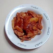 豚バラとジャガイモの煮物