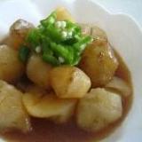 初めての野菜!菊芋の煮物