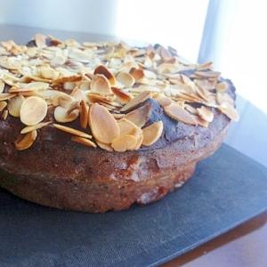 木苺と木の実のハニージンジャーケーキ