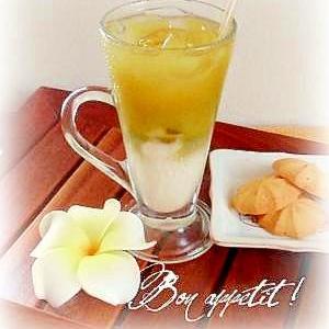 ☆渋さと甘さの混ざった魅力♪練乳緑茶☆