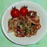 豚肉の簡単生姜焼き
