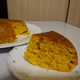 かぼちゃと味噌の炊飯器ケーキ