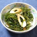 ☆海草たっぷり☆切り昆布とちくわの煮もの