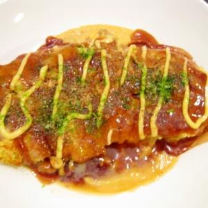 豚肉とキャベツのとんぺい焼き
