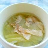 お湯とレンジで☆スープジャーで作る簡単スープ