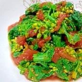 菜の花のトマト煮