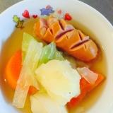 残り物野菜で節約!栄養満点ポトフ
