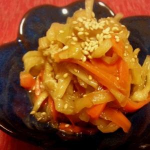 自家製干し野菜(大根/人参)で♪ 煮物☆