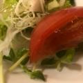 トマトとアスパラのカラフルサラダ