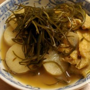 長芋と糸昆布のあっさり煮物