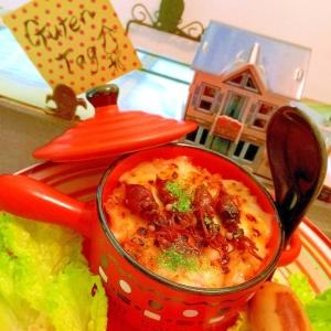 ほたるいか天日干しの炙りチーズトマトリゾット