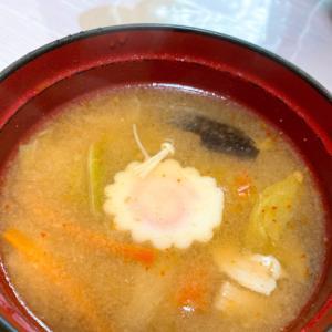 家族絶賛!味噌キムチスープ