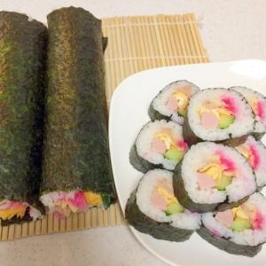 節分・恵方巻きにも☆家にある食材で作る巻き寿司