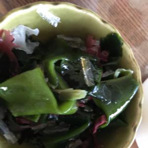 簡単海藻サラダ