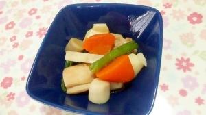 鶏もも肉と冷凍野菜の簡単煮++