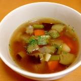 にんにくスープ(/ω\)
