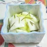 白菜と蕪の浅漬け~(*^^*)