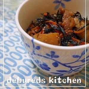 鶏肉とひじきの煮物