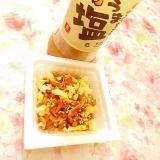 うま塩タレde❤炒り卵と花小エビの納豆❤