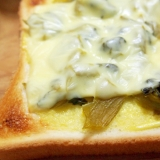 高菜のマヨチーズトースト