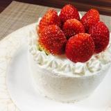 簡単!お家でいちごのショートケーキ