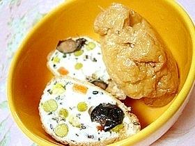 ヘルシー満足✿鶏ささみとお豆腐で稲荷風✿