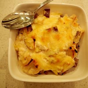 根菜と豆腐のドリア