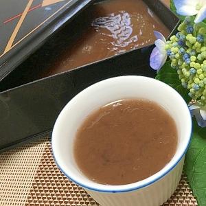 色んな小豆で作る「水ようかん」レシピ