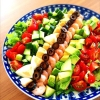 ボリューミー満点「サラダ」が主役の献立