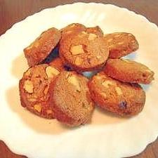 大満足のリッチな 黒糖とクルミのクッキー
