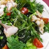 焼き赤魚の和風サラダ