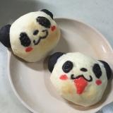 お買いものパンダ☆もっちりくりぃむパン