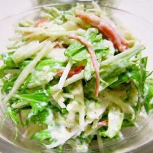水菜の白和えサラダ