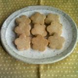 マクロビ♪全粒粉の型ぬきクッキー