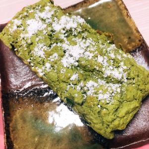 豆腐と抹茶のヘルシーパウンドケーキ