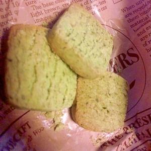 青汁粉で!さくさくクッキー