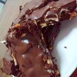 オレンジビアのチョコロード