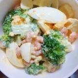 海老とブロッコリーのサラダレシピ♪