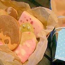 ほろほろデコクッキー