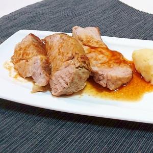 お店のような味わいを☆洋風豚ロースブロックの生姜焼