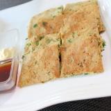 小麦ふすまで低糖質版♪沖縄料理☆ヒラヤーチー