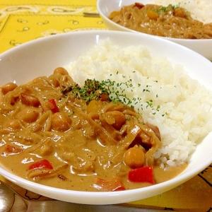 ひよこ豆in☆ココナッツ・カレー