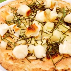 【もっちりホクホク】ピッツァとお餅のナイスタッグ!
