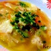食べるスープ☆ワンタンスープ