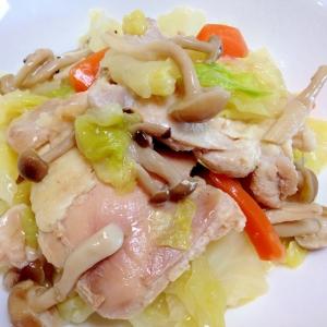 鶏肉とキャベツのコンソメ煮