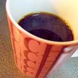 ゴマ風味♪芋焼酎コーヒー